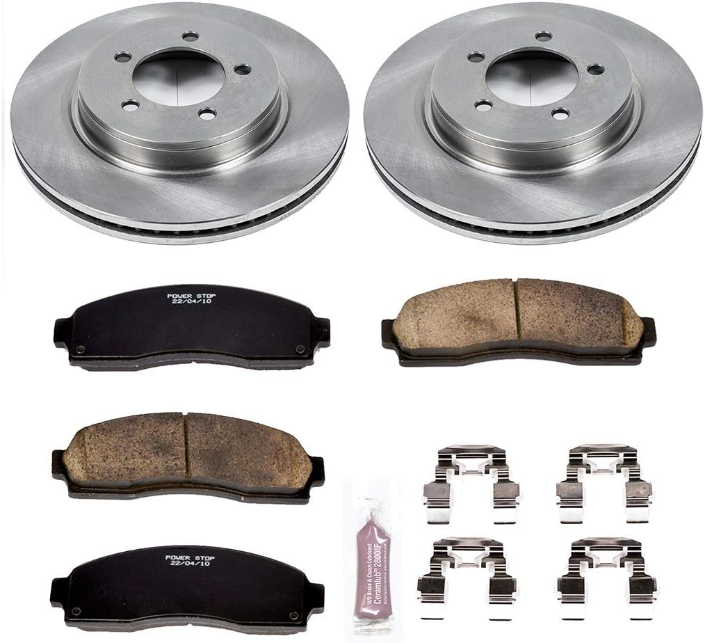 Autospecialty KOE1931 1-Click OE Replacement Brake Kit Power Stop