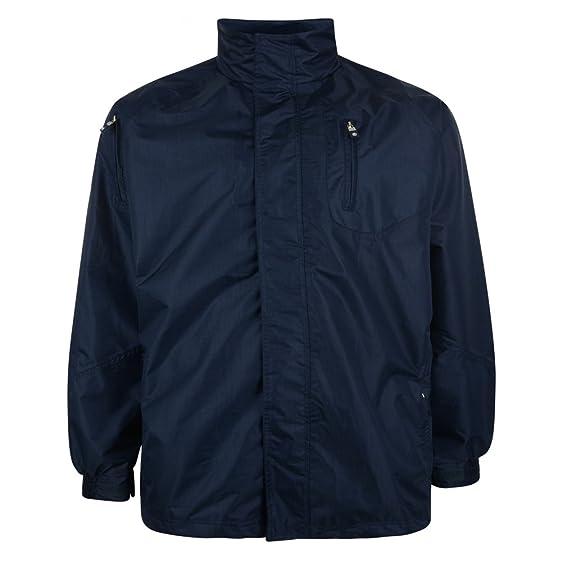 Black: Waterproof Breathable Rain Jacket 2xl 3xl 4xl 5xl 6xl 7xl ...
