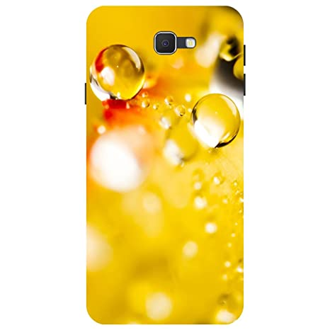 Citydreamz Dew Drops Yellow Nature Hard Polycarbonate