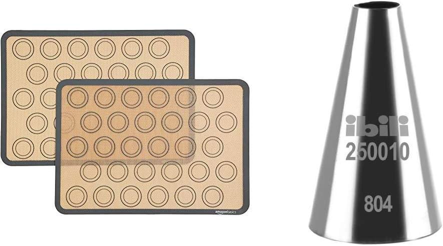 Bocchetta per sac-/à-poche rotonda e liscia IBILI 250010 10 mm