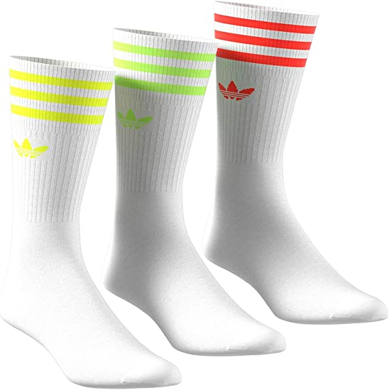 adidas Originals Solid Crew Sock 2 Pack | Rot | Strümpfe