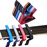 CLKjdz Portable Guitar Jaw Capo Clamp for