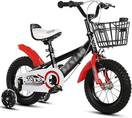 KOSGK Bicicleta para NiñO/NiñA Bicicletas Deluxe TamañO Opcional ...