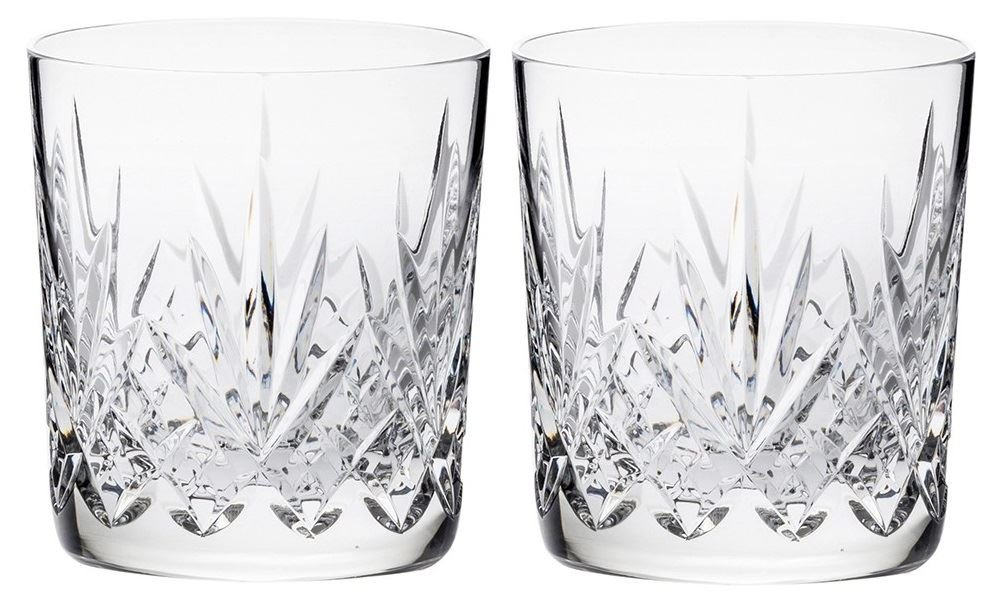 Royal Scot Crystal Highland Whisky Tumblers 11 oz Set of 2