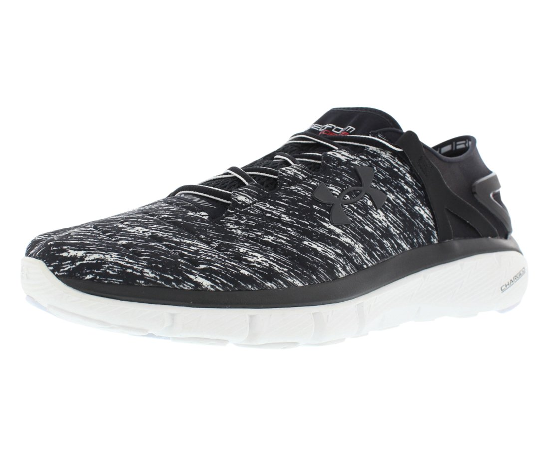 Under Armour Fortis Twist Running Men's Shoes B01IOYJI8I 8 D(M) US|Black/White