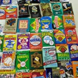 50 Original Unopened Packs of Vintage Baseball
