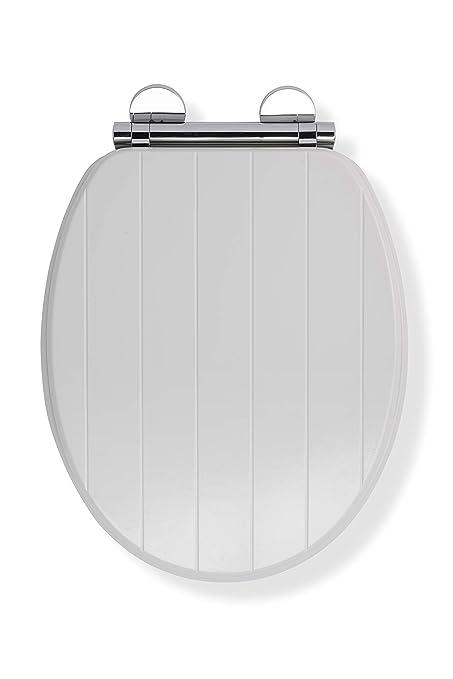 Brilliant Croydex Flexi Fix Portland Always Fits Never Slips Slow Close Toilet Seat Wood White 45 5 X 37 5 X 6 Cm Forskolin Free Trial Chair Design Images Forskolin Free Trialorg