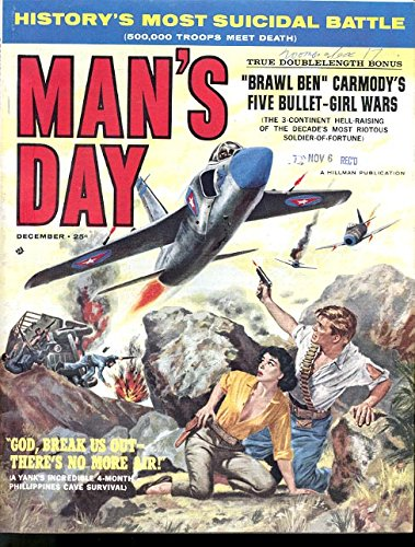 - MAN'S DAY 1960 DEC-#1-TOM MIX/BASIL GOGOS ART VF