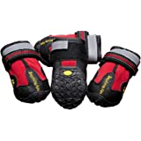 Water Resistant Dog Shoes with Reflective Velcro and Rugged Anti-Slip Sole (Sizes 1-8)