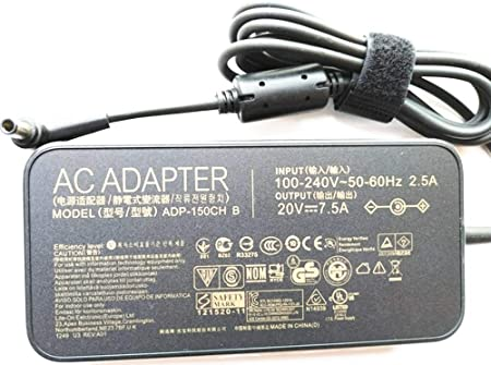 Huiyuan 20V 7.5A Charger ADP-150CH B A18-150P1A for Asus Rog G531GT G731GT FX505GT FX705GT FX505DD FX505DT FX505DU FX705DD FX705DT FX705DU