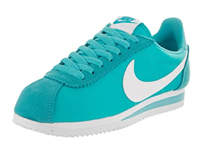 cheap for discount beb11 75492 Nike Women's WMNS Classic Cortez Nylon Sneakers Blue Size: 7.5 ...