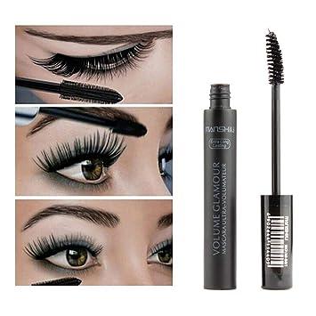 9289ecfbda4 Mascara Black Long Lasting Waterproof Smudge-Proof, Lengthening Dense  Eyelash, Hypoallergenic, Promote