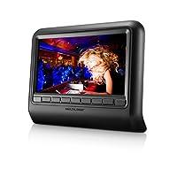 Dvd Player Automotivo 9 Pol Com Encaixe Preto Au705 Multilaser