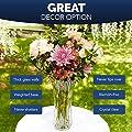 Vases For Flowers,Flower Vases,Tall Flower Vase,Glass Flower Vase,Crystal Vases For Flowers | Beautiful Home Decor | Fresh Flower Arrangements | Housewarming, Wedding gift | Glass Vases for Flowers