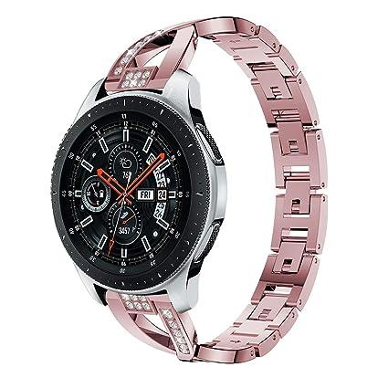 Amazon.com: Huamecl - Correa para reloj Samsung Galaxy ...
