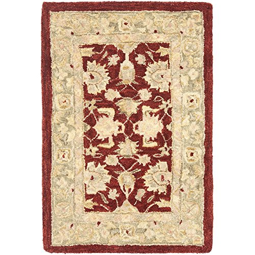 Moss Green Traditional Rug - 4