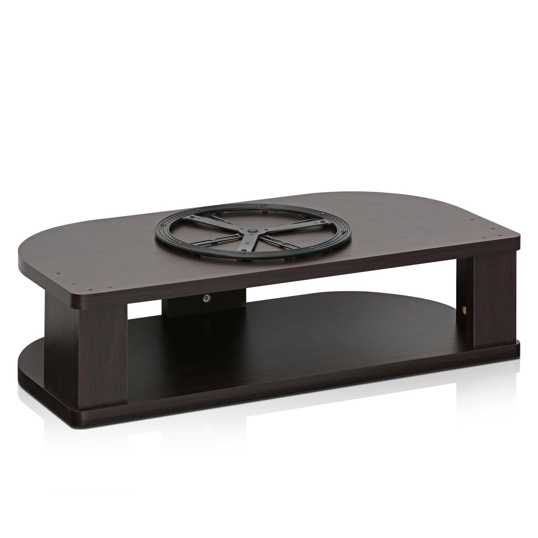 Furinno FSP019EX Indo Wide Swivel Shelf for TV, 31.4