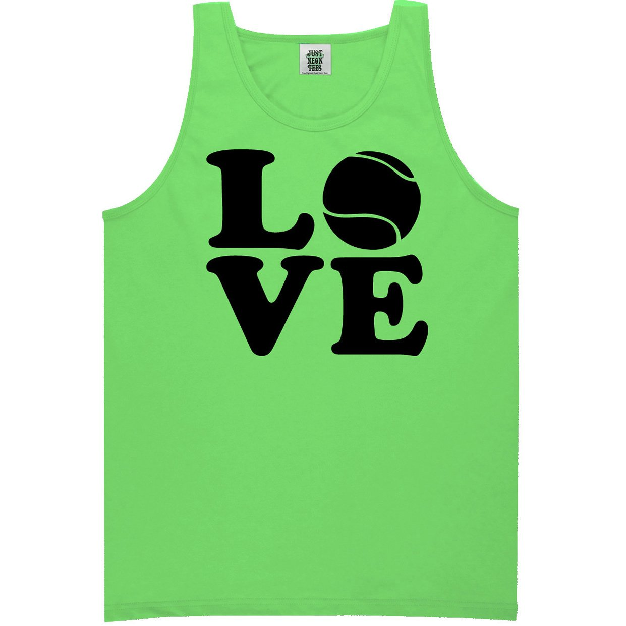 Love Tennis Bright Neon Tank Top PA-NEON-326-TK