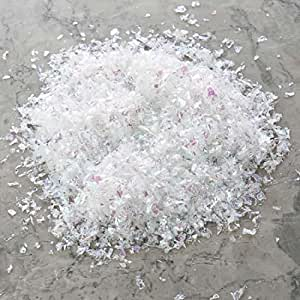 4 ounce Bag Artificial Snow Twinkle Flakes - Vintage Mica Snow Look