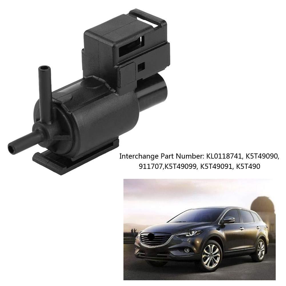 Solenoid Valve Black Plastic Car Fuel Pressure Regulator Control Solenoid Swith for Mazda 626 629