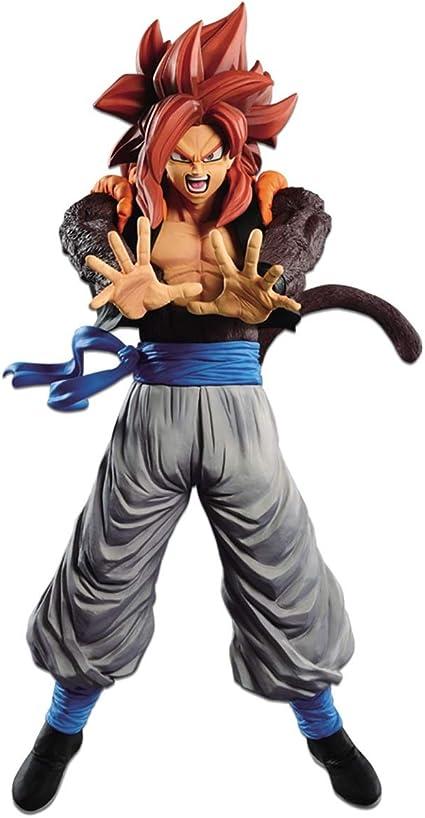 Amazon Com Banpresto 35782 Dragon Ball Z Super Saiyan 4 Gogeta Figure Toys Games