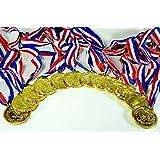 Gold Medals (1 Dozen) - Bulk