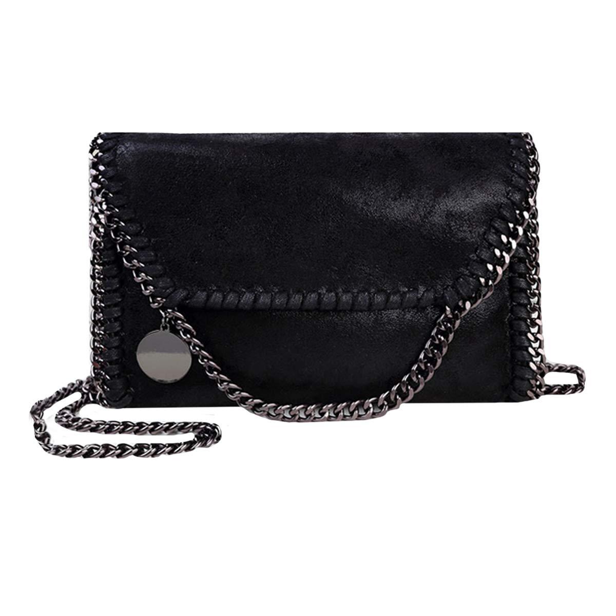 f058c717975b Heidi Bag Women Crossbody Chain Bag PU Leather Shoulder Handbags ...