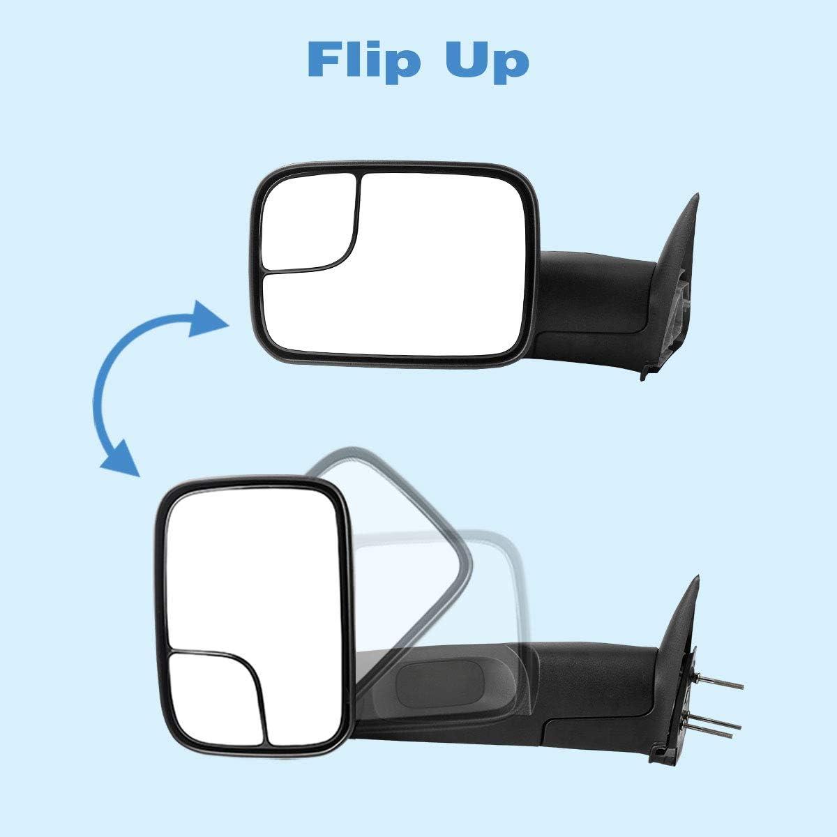 Manual Flip-up Manual Fold Fixed Blind Spot Mirror Manual Adjusted ...