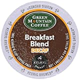 : Keurig K-Cup Green Mountain Coffee Breakfast Blend Decaf (18 k-CUPS)