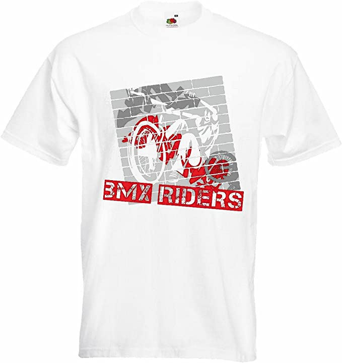 T-Shirt Camiseta Remera BMX o bicicross Bicicleta Freestyle ...