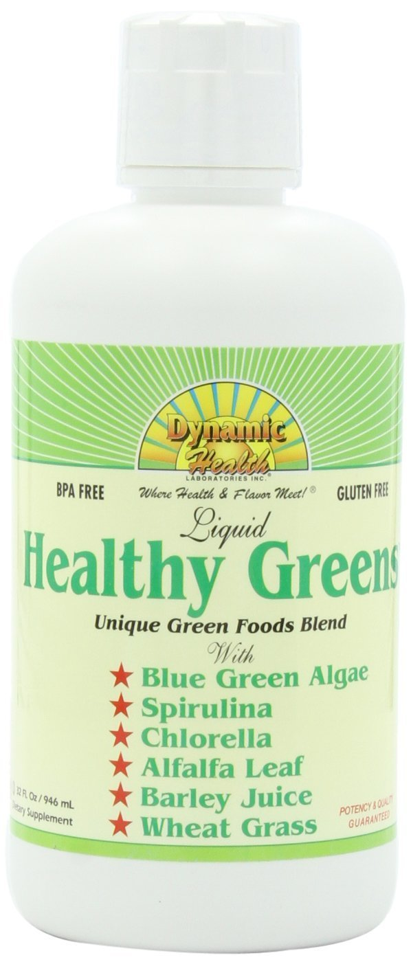 Dynamic Health Healthy Greens Liquid 32 Fz