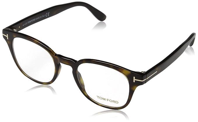 108df7067835b Tom Ford ft 5400 ‑ Dark Havana Eyeglasses at Amazon Men s Clothing ...