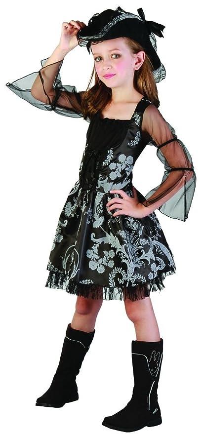 Ptit Clown P tit payaso re81251 - Disfraz lujo pirata niña, talla ...