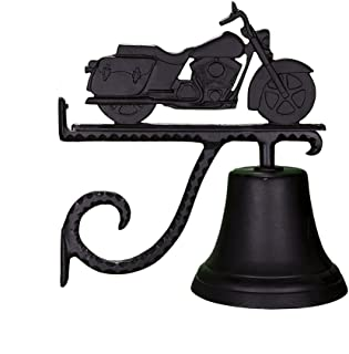 product image for Montague Metal Products Cast Bell with Black Motorcycle