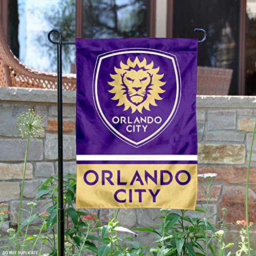 fan products of Orlando City Soccer Club Double Sided Garden Flag
