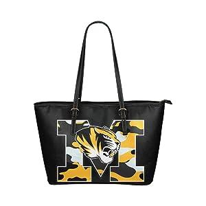 Women's Leather Large Tote HandBag M Tiger Shoulder Bag