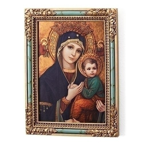Joseph's Studio by Roman Our Lady of Perpetual Help Plaque