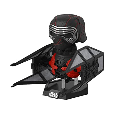 Funko Pop! Deluxe Star Wars: Episode 9, Rise of Skywalker - Kylo Ren in Whisper: Toys & Games