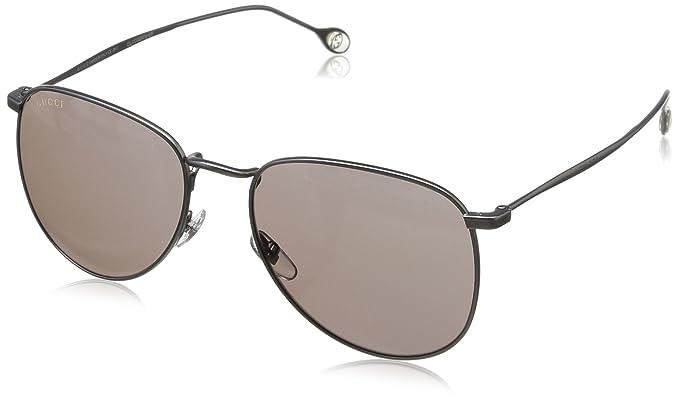 acb6260f58 Amazon.com  Gucci sunglasses GG 2256 S R80L8 Metal Gun Black  Clothing