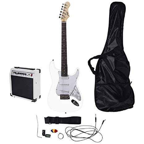 Johnny Brook - Kit de Guitarra con Amplificador DE 20 W
