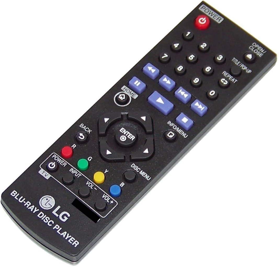 LG Remote Control  BLU-RAY DISC PLAYER AKB73896401 For BP135W BP145 BP155 BP165