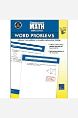 Singapore Math – Challenge Word Problems Workbook for 5th, 6th, 7th, 8th Grade Math, Paperback, Ages 10–11 with Answer Key Paperback