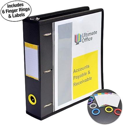 Ultimate Office PortaFile - Carpeta con anillas en D de 5 cm ...