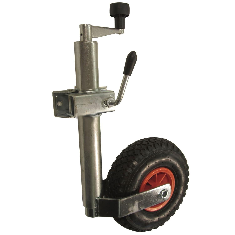 Neumá tico de servicio pesado rueda jockey y abrazadera (48mm) AB Tools