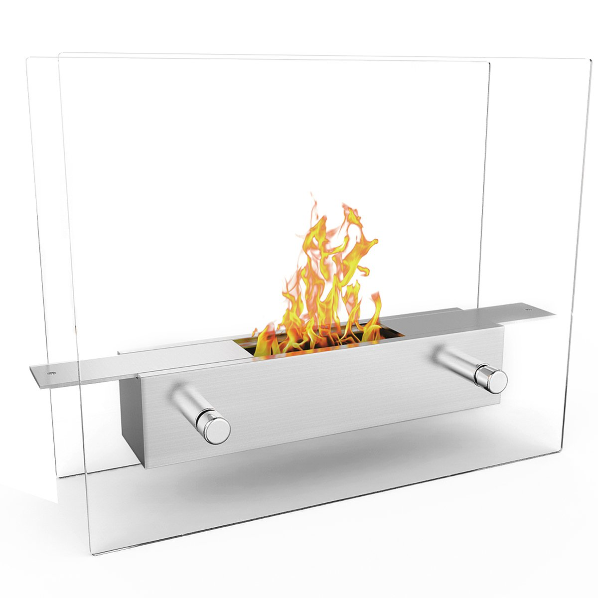 Regal Flame Lyon Fire Pit Tabletop Portable Bio Ethanol Fireplace by Regal Flame