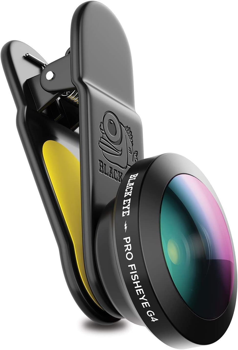 Phone Lenses by Black Eye || Pro Fisheye G4 Phone Camera Lens Compatible with iPhone, iPad, Samsung Galaxy, and All Camera Phone Models - G4FE001