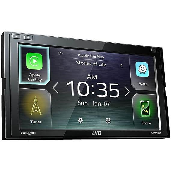 Amazon Com Jvc Kw M740bt Apple Carplay Android Auto 2 Din Av