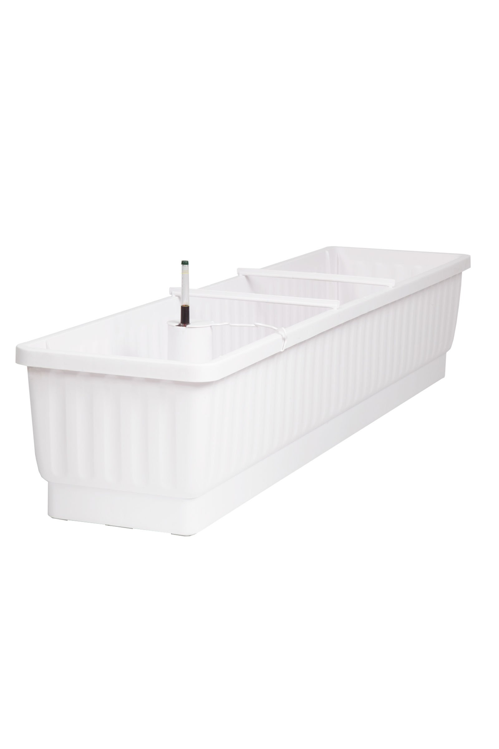 39'' Self-Watering Windowbox, White by Gardener's Supply Company