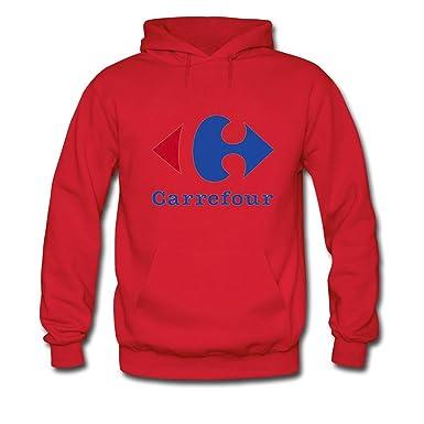 Carrefour Logo For Mens Hoodies Sweatshirts Pullover Outlet: Amazon.es: Ropa y accesorios