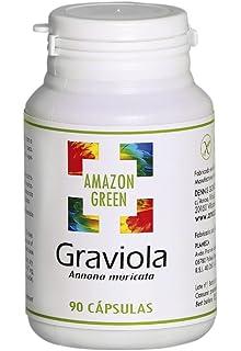 Graviola 500mg - Fruta Graviola en polvo - 180 cápsulas ...